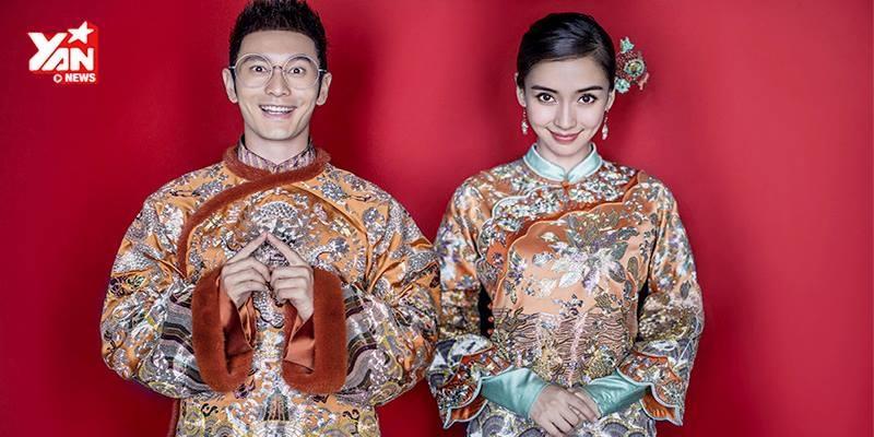 Hé lộ ảnh cưới của Huỳnh Hiểu Minh - AngelaBaby