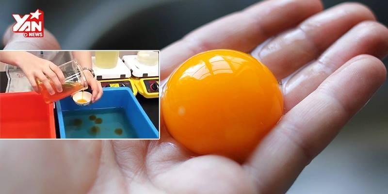 Sốc với trứng gà giả làm từ màu nước giống như thật