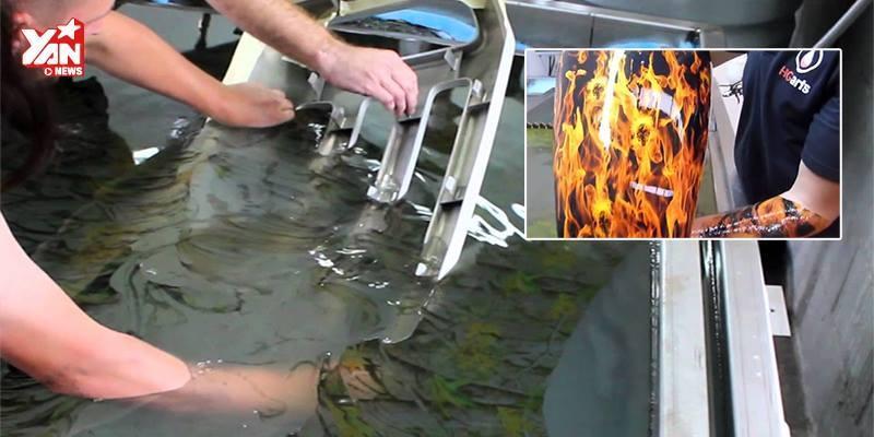 Choáng với công nghệ sơn nhúng hydro cực ảo