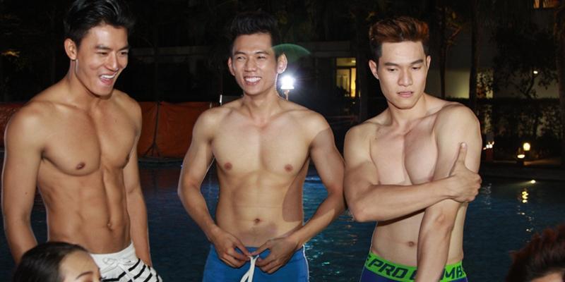 """Hiếu Nguyễn - Minh Anh - Lý Bình đọ body """"chuẩn không cần chỉnh"""""""