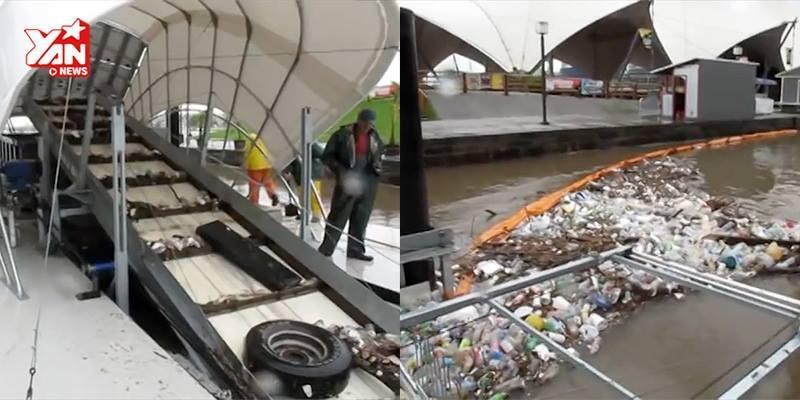 """""""Choáng"""" với công nghệ lọc rác thải tiên tiến của nước ngoài"""