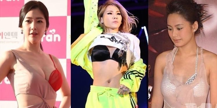 Sao châu Á khiến khán giả  nóng mặt  với thời trang lộ nội y