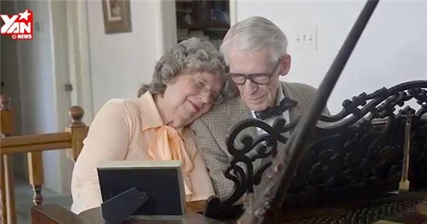 'Sụt sùi' với clip kỉ niệm ngày cưới của đôi vợ chồng 80 tuổi