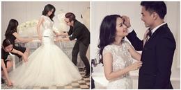"""Tú Vi sung sướng nhận quà cưới """"khủng"""" của Chung Thanh Phong"""