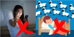 """Những thói quen không ngờ đang """"phá hoại"""" giấc ngủ của bạn"""