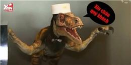 Lạ lùng khủng long làm lễ tân khách sạn tại Nhật Bản