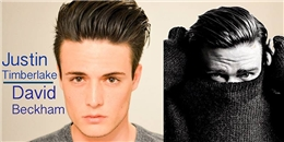 Hướng dẫn làm tóc đẹp như David Beckham và Justin Timberlake