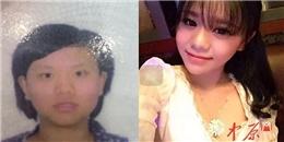 Sốc với nhan sắc ảnh thẻ và đời thực của giới trẻ Trung Quốc