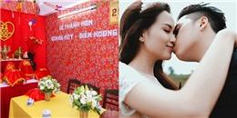 Hoa hậu Diễm Hương được rước dâu trên xe ô-tô cổ