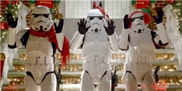 Điệu nhảy mừng Giáng sinh của những chiến binh dải ngân hà