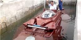Thử nghiệm thành công tàu ngầm Hoàng Sa của doanh nghiệp tư nhân
