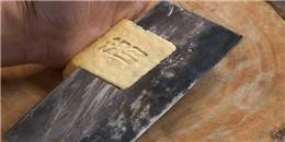 Choáng với nghệ nhân Trung Quốc dùng dao 'nhanh như điện'