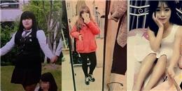 Giảm 25kg, cô gái Hàn Quốc trở thành tấm gương phấn đấu