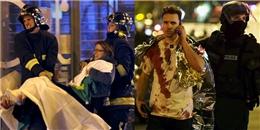 """Hiện trường """"như ngày tận thế"""" sau vụ khủng bố ở Paris"""