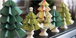 Những ý tưởng trang trí Giáng sinh cực hay ho và dễ làm