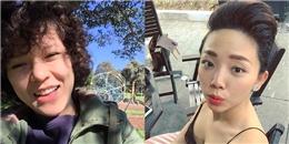 Tiên Tiên 'đấu súng' giành chuối, Tóc Tiên 'tăng động' sau chấn thương