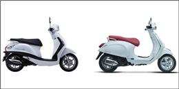 Xe ga thời trang dành cho nữ: Yamaha Grande so tài cùng Vespa Primavera