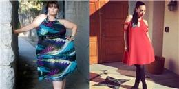Khâm phục quyết tâm giảm béo của cô người mẫu 185kg