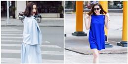 Trang phục sắc xanh - xu hướng sẽ 'bùng nổ' thời gian tới