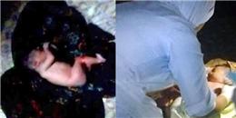 Phẫn nộ với bà mẹ nhẫn tâm vứt con mới sinh vào máy giặt