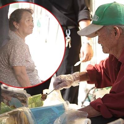 Cảm động cụ ông 80 tuổi bán xôi để nuôi vợ bệnh hiểm nghèo