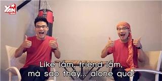 Parody  Bốn Chữ Quá  cực đỉnh dành cho dân nghiện mạng xã hội