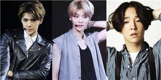 Top mĩ nam Kpop vẫn cực sành điệu khi chọn tóc rẽ ngôi giữa