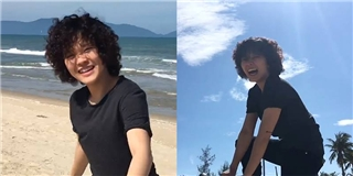 Tiên Tiên tung fancam mới  quẩy  giữa biển cực  hot