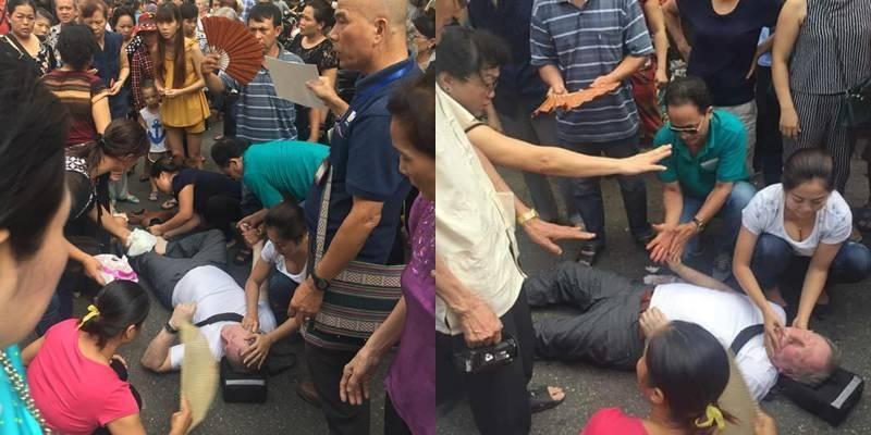 Hãnh diện trước hành động đẹp của người Việt cứu khách Tây