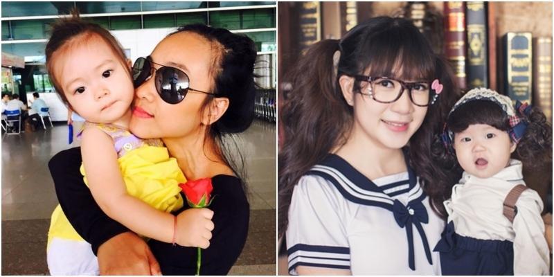 Mê mẩn những công chúa nhỏ xinh như búp bê nhà sao Việt