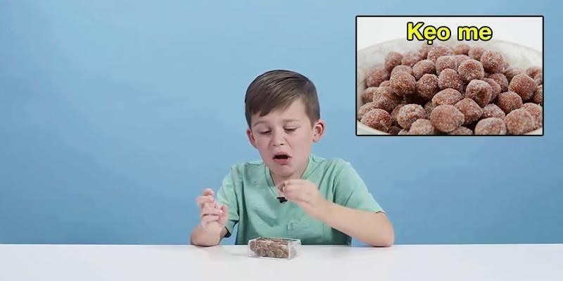 Chuyện gì xảy ra khi trẻ em Mỹ thử kẹo trên khắp thế giới