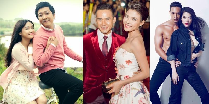 Điểm danh những cặp đôi phim giả tình thật của showbiz Việt