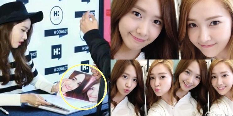 Yoona không giữ được bình tĩnh khi thấy ảnh chụp cùng Jessica