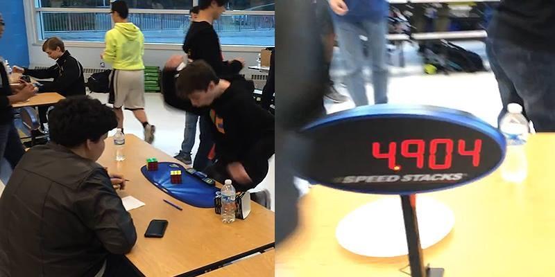 Cậu bé phá kỉ lục giải rubik trong 4,9 giây