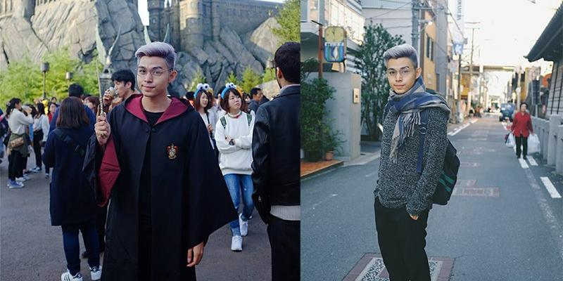 Jun (365) sướng rơn khi được người Nhật gọi là Harry Potter