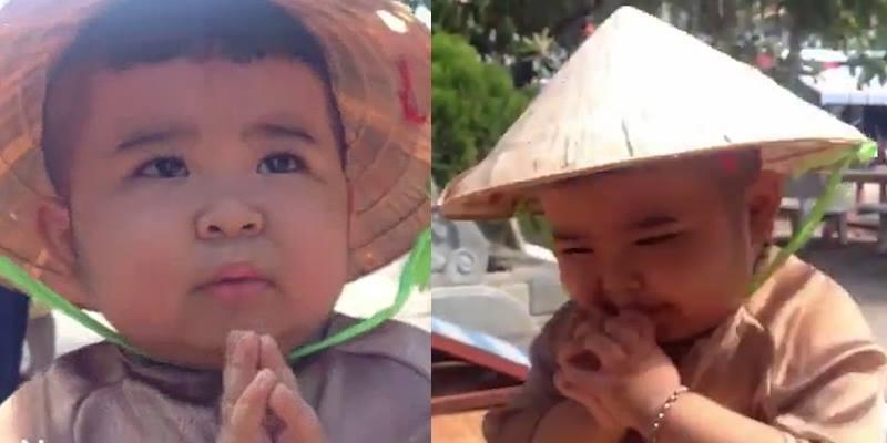 Thích thú với clip Ku Tin hát khi đi chùa thu hút triệu lượt xem