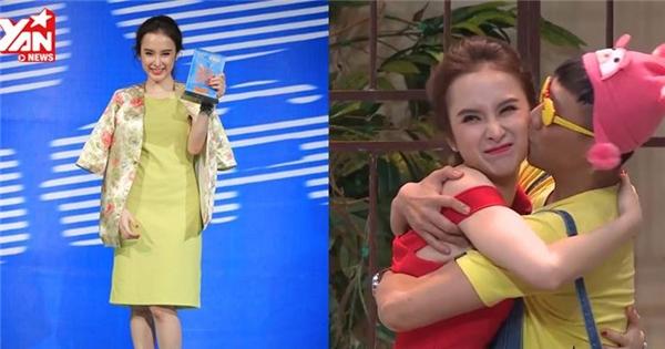 'Bà mẹ nhí' Angela Phương Trinh bật khóc vì cậu con Trấn Thành