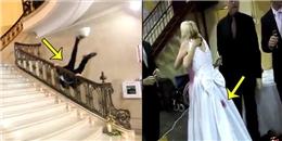 Những tình huống khó đỡ nhớ đời của cô dâu chú rể trong ngày cưới