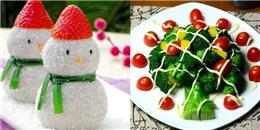 Mách bạn 5 cách trang trí đĩa thức ăn cực đáng yêu cho mùa Noel