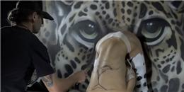 'Trố mắt' với nghệ thuật 'Body Painting' đầy mê hoặc