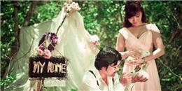 'Sốt sình sịch' với trào lưu trang trí hoa tươi trong ngày cưới