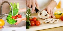 Bí quyết giảm bớt độc hại trong thực phẩm cực đơn giản và hiệu quả