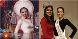 Lệ Quyên bất ngờ chiến thắng giải phụ tại Hoa hậu Siêu quốc gia 2015