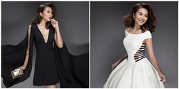 Thanh Hằng đẹp tựa thiên thần trong trang phục trắng, đen