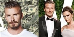 Vợ chồng David Beckham kiếm tiền giỏi nhất nước Anh