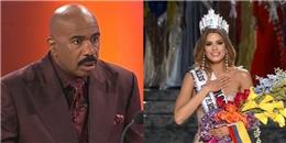 Hé lộ nguyên nhân khiến Steve Harvey đọc sai tên Hoa hậu Hoàn vũ
