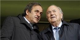 Blatter và Platini bị cấm hoạt động bóng đá 8 năm