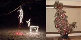 """Cười """"không nhặt được mồm' trước những """"thảm họa"""" trang trí Giáng sinh"""