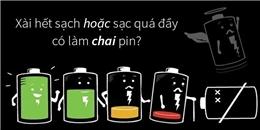 Những lời đồn đã lỗi thời về việc sử dụng pin điện thoại