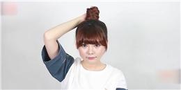 Búi tóc phong cách Hàn Quốc cực xinh trong vòng 30 giây